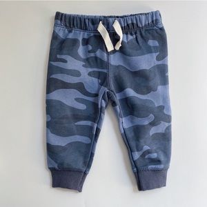 NWOT Carter's | Baby Boy Blue Camo Sweater Pants